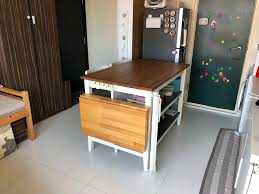 Ikea Kitchen Table Island Furniture Tables Chairs On Carousell