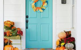 thanksgiving front door decorationsThanksgiving Front Door Decorations  Nanas Workshop