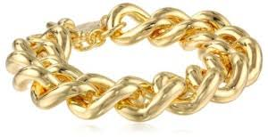 this gold bracelet is actually plated with 18k gold