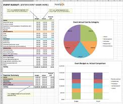 expenses breakdown template how to manage your entire marketing budget free budget tracker