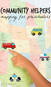 Map Activity For A Community Helpers Preschool Theme