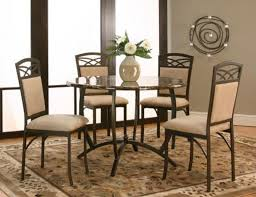 cramco 5 pc dinette brown marble 399