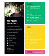 Graphic Design Resume Template Download Graphic Design Resume