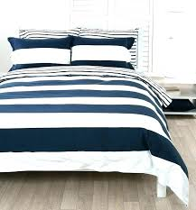 navy blue and white bedding duvet cover nautical bed sheets striped