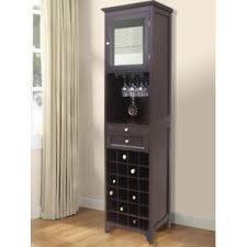 McCar 24 Bottle Floor Wine Cabinet