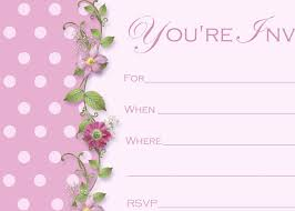 Free Format Blank Card Wedding Invitation Word Templates