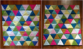 Triangle Baby Quilt - TaylorMade & baby triangle quilt Adamdwight.com