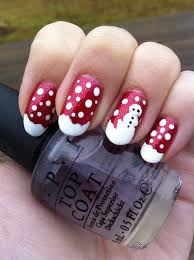 Easy Christmas Nail Art Designs DIY 2014
