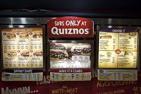 The Quiznos Crisis Trouble At The Sandwich Counter