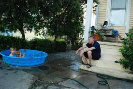 photo essay after isaac wwno a mid city family keeps cool in the wake of hurricane isaac which left much of the region out power