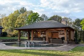 pool house. Wonderful Pool Rustic Pool House In Mississippi On T