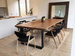 Timber Slab Table Australia Lumber Furniture
