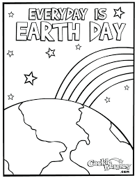 The Earth Coloring Page Earth Day Coloring Sheet Pages Kids Info
