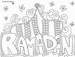 Small Picture Ramadan Coloring Pages Religious Doodles