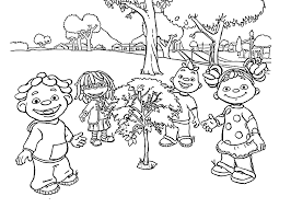 The Science Kid Coloring Pages
