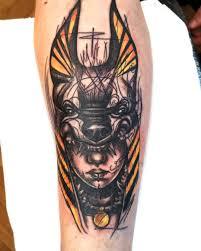 тату анубис фото эскизы и значение татуировки для девушек и мужчин