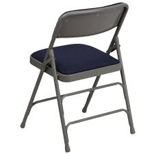 Metal Folding Chairs Padded Seats