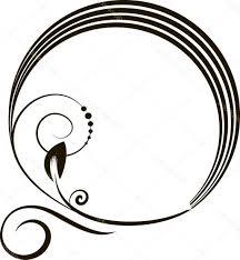 oval frame design. Stock Illustration Decorative Oval Frame For Design Oval Frame Design