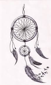 Dream Catcher Tattoo Sketch