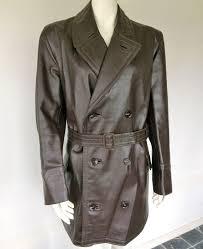 brown leather vintage men s jacket washington