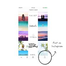 How To Make An Instagram Theme With The White Line In The Middle