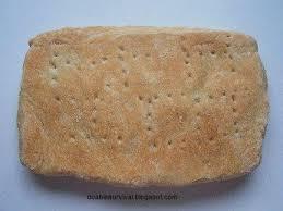 hardtack and survival bread