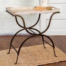 whitewash oak furniture. Whitewash Wood Tray Table Oak Furniture