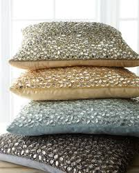 Jeweled Decorative Pillows