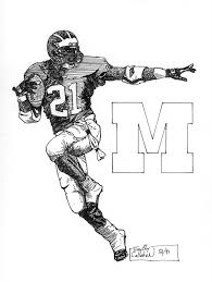 Small Picture Michigan Football Coloring Pages Free Coloring Pages