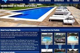 exquisite fiberglass pools texas san antonio
