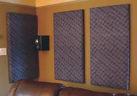 How To Build Your Own Acoustic Panels DIY - Diy basement wall panels
