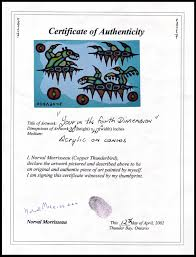 Best Ideas Of Certificate Of Authenticity Painting With Additional