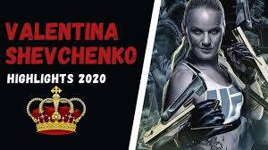 Valentina Shevchenko highlights 2020 ...