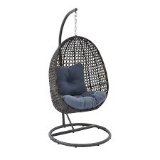 better homes and gardens lantis outdoor wicker hanging chair with stand com