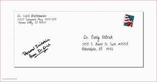 Envelope Format Sending Letter Format In Envelope New Apartment Mail