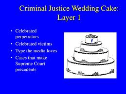 Criminal Justice Definition Criminal Justice Wedding Cake