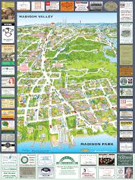 madison park tourist map  madison park washington • mappery