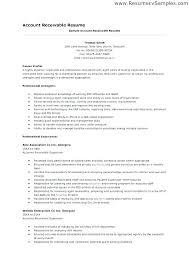 Account Receivable Resume Best Accounts Payable Resumes Accounts Payable And Receivable Resume
