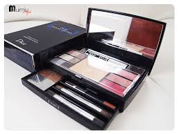 review dior travel studio palette collection voyage