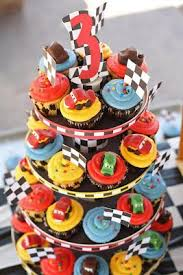 Cars 2 Birthday Cupcakes 3rd Birthday Party Ideas Cars Birthday