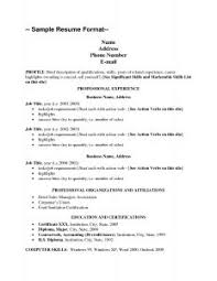 Resume Writing Usa Jobs Resume Format      Resume      For    Marvellous  Proper Resume Format