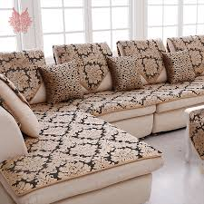 black furniture covers. europe black gold floral jacquard terry cloth sofa cover plush sectional slipcovers furniture couch covers capa
