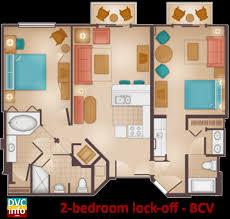 2 bedroom villas disney world beach club villas floor plan