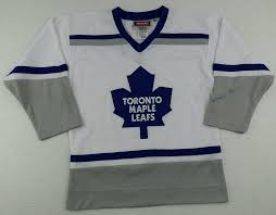 Authentic Reebok Nhl Toronto Maple Leafs Hockey Jersey Size Youth S M