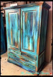 colorful furniture. From Our Bermuda Collection, This Blended Technique Makes Armoire Unique! By ML Furniture Colorful