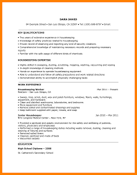 8 Maid Resume Sample Budgets Examples