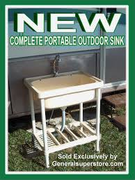 sink amazing outdoor stainless steel sink cart home design popular classy simple with design ideas