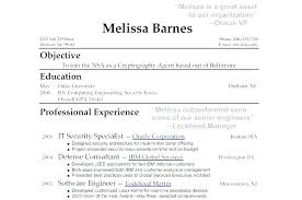 Example Of A Resume With No Experience Resumes High School Sample Beauteous Resume High School