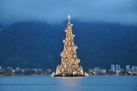 most beautiful christmas tree. Unique Christmas 1 Worldu0027s Largest Floating Christmas Tree Rio De Janeiro Inside Most Beautiful Tree T
