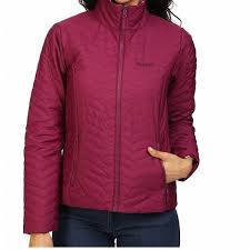 Marmot NEW Pink Women's Size XL Zip Front Mock Neck Quilted Jacket ... & Marmot NEW Pink Women's Size XL Zip Front Mock Neck Quilted Jacket Adamdwight.com